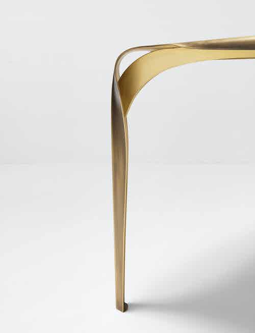 De Castelli Convivium Table Leg Haute Living