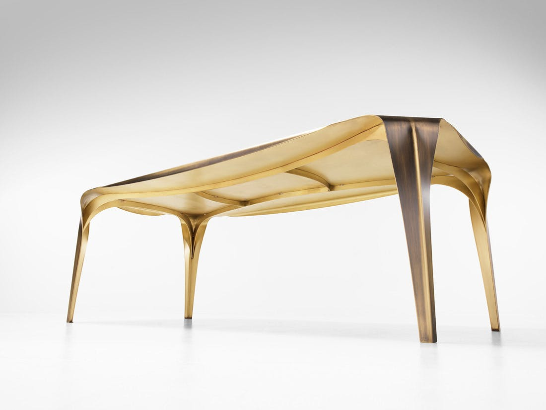 De Castelli Convivium Table Under Haute Living