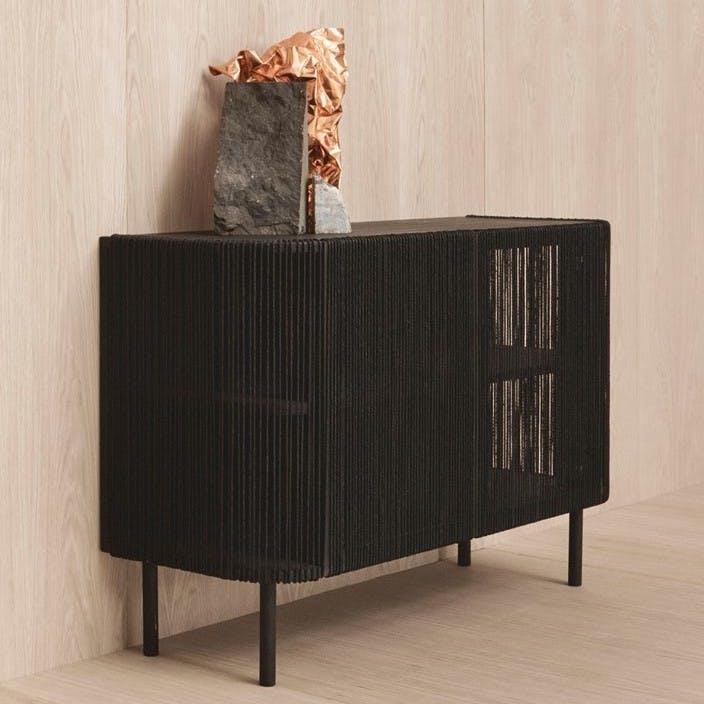 Bolia Cord Sideboard Insitu Haute Living