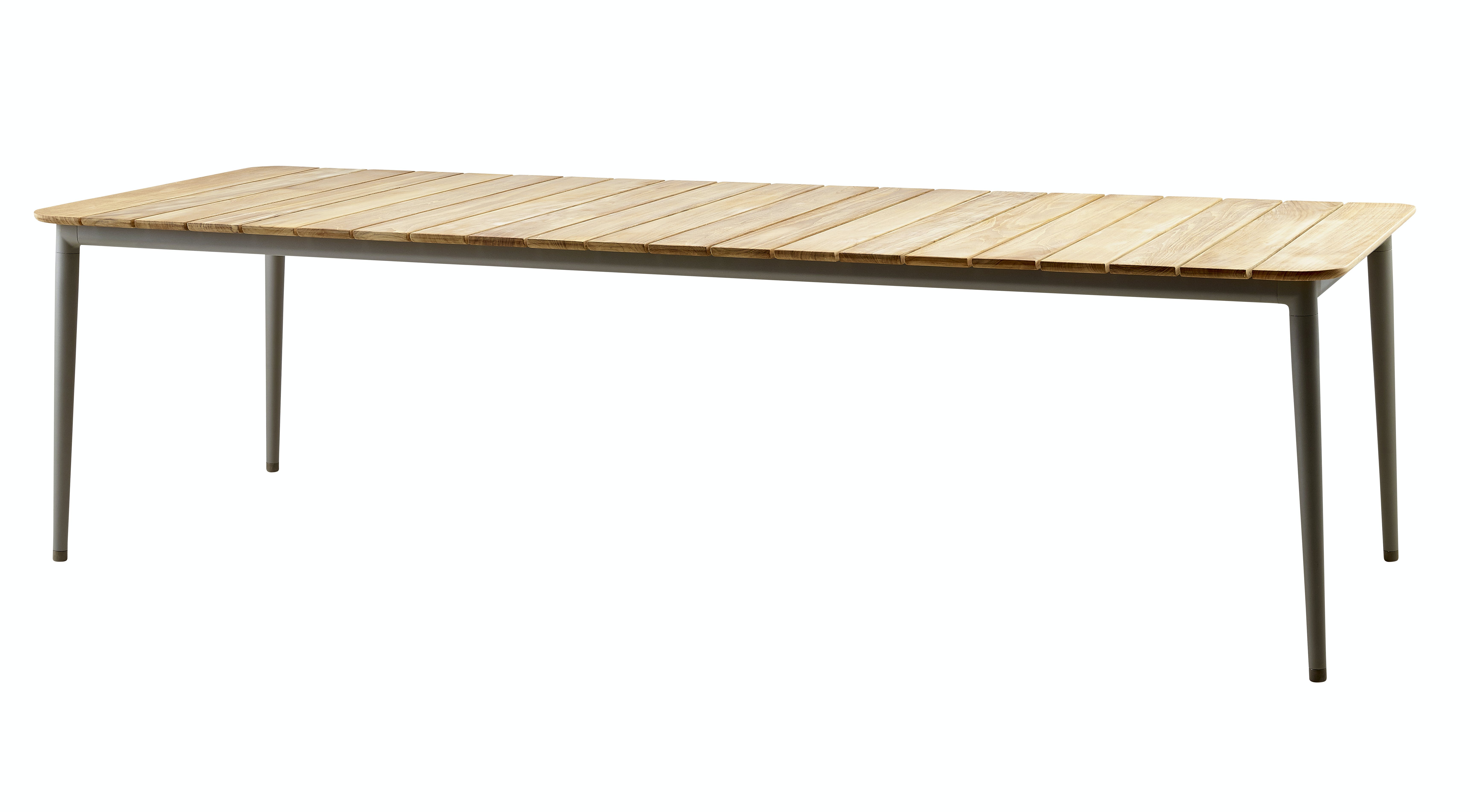 Core Diningtable Taupe Teak 274X100
