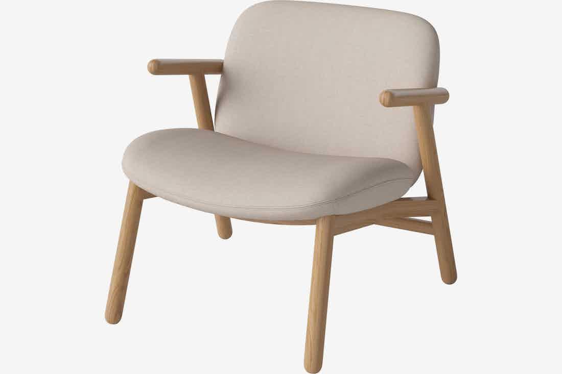 Bolia cosh armchair beige haute living