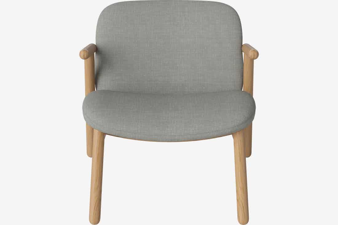 Bolia cosh armchair front haute living