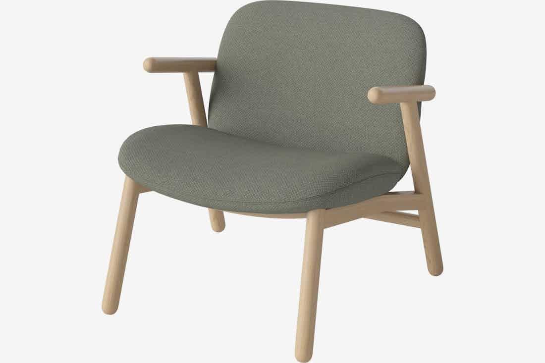 Bolia cosh armchair green haute living