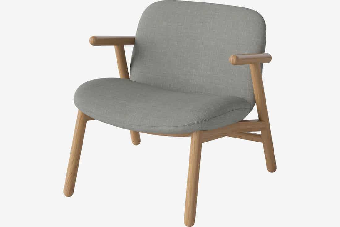 Bolia cosh armchair grey haute living