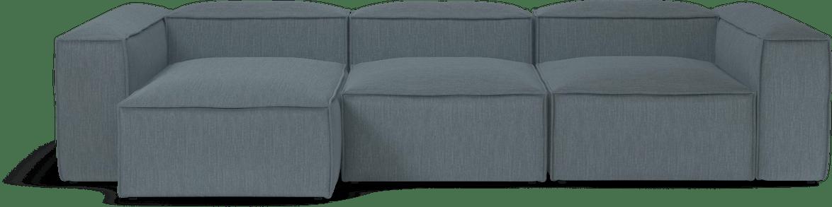 bolia blue modular cosima sofa haute living