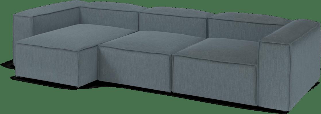 bolia blue cosima modular sofa angle haute living