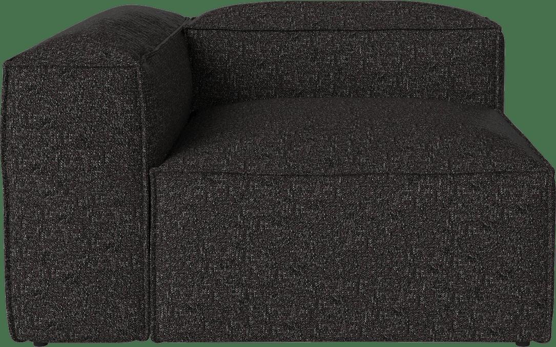 bolia cosima sofa black corner piece haute living