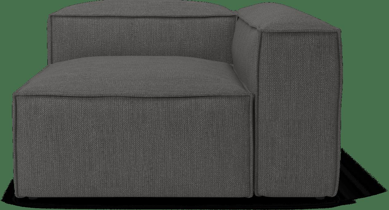 bolia grey cosima sofa modular corner piece haute living