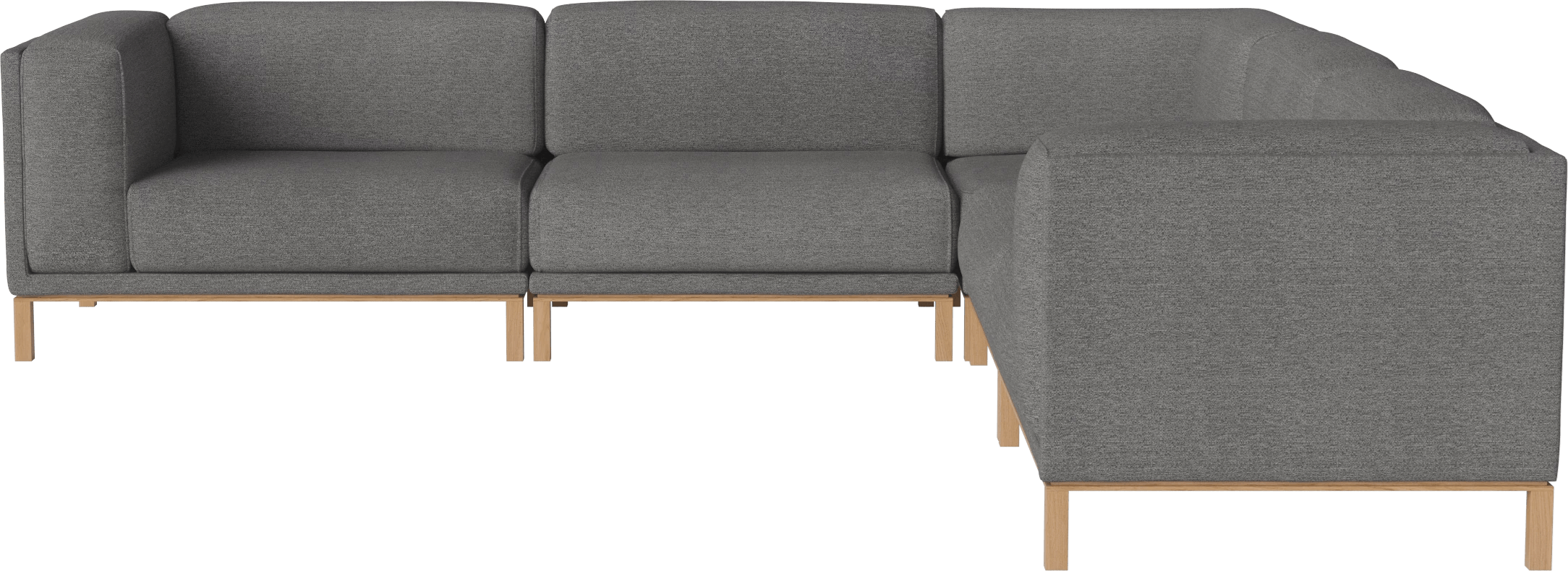 bolia grey cosy sofa sectional haute living