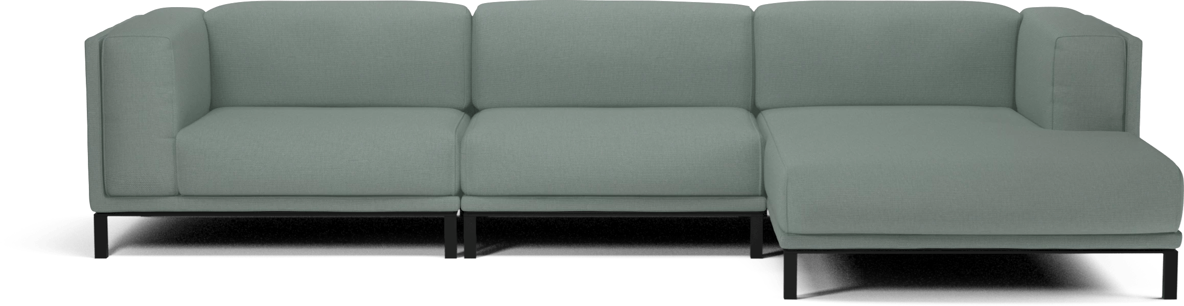 bolia light green cosy modular sofa haute living