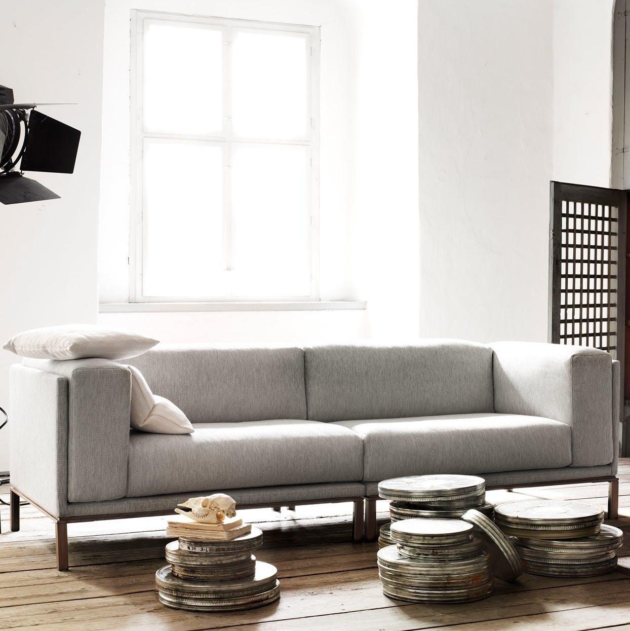 Bolia Grey Cosy 2 Seat Sofa Insitu Haute Living