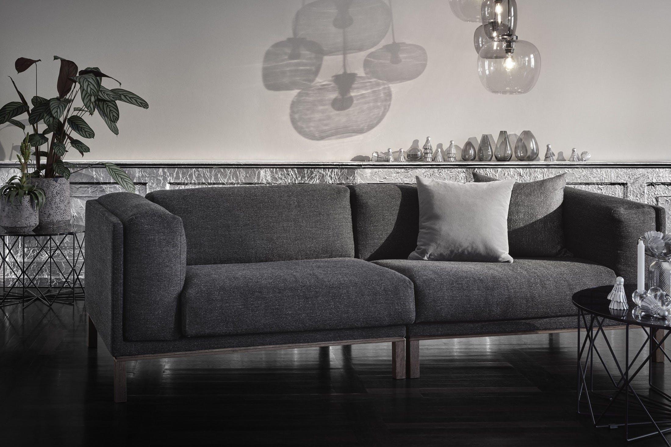 Bolia Grey Cosy Sofa Insitu Haute Living