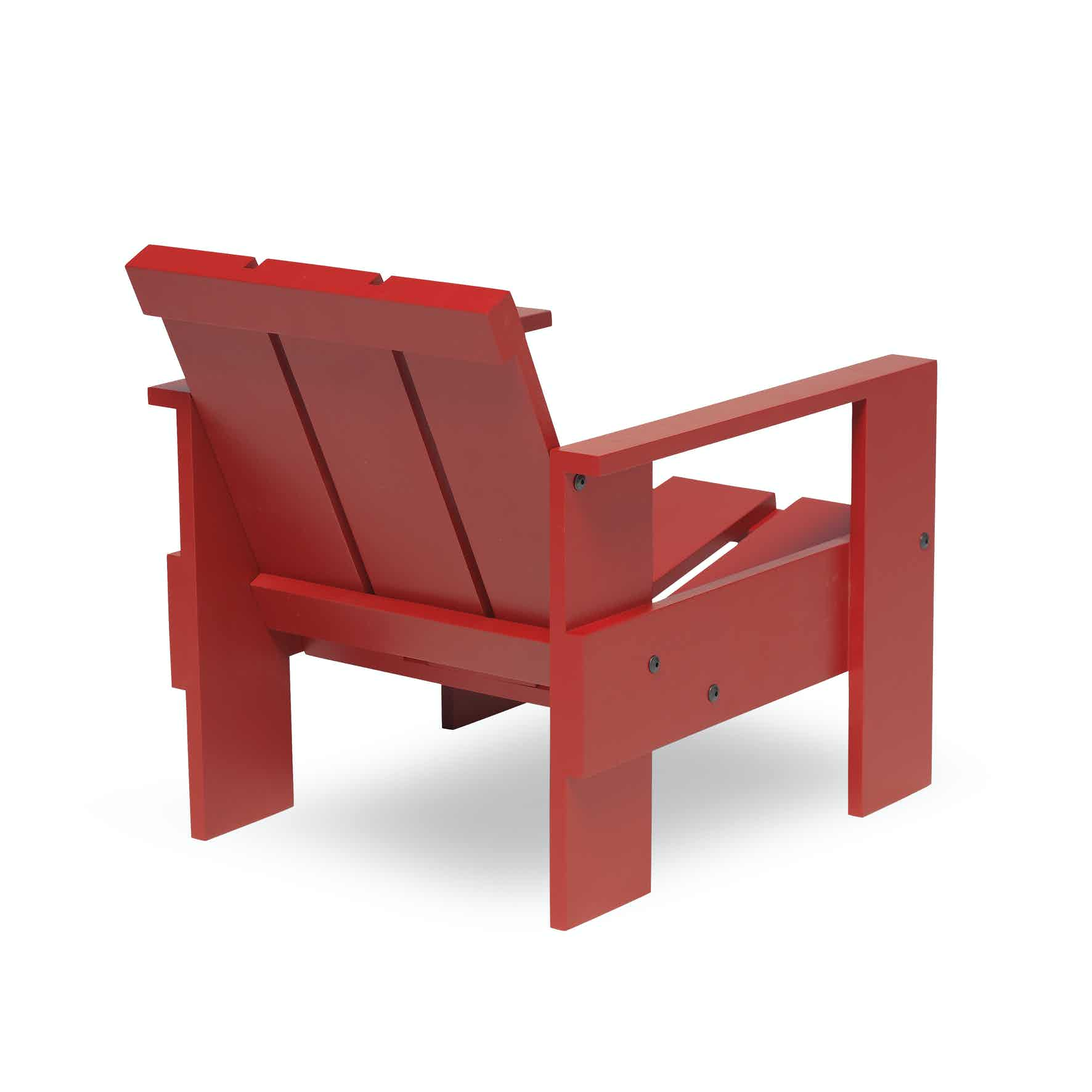 Spectrum Furniture Red Back Crate Junior Chair Haute Living