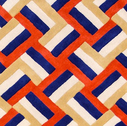 La-chance-cross-rug-detail-haute-living