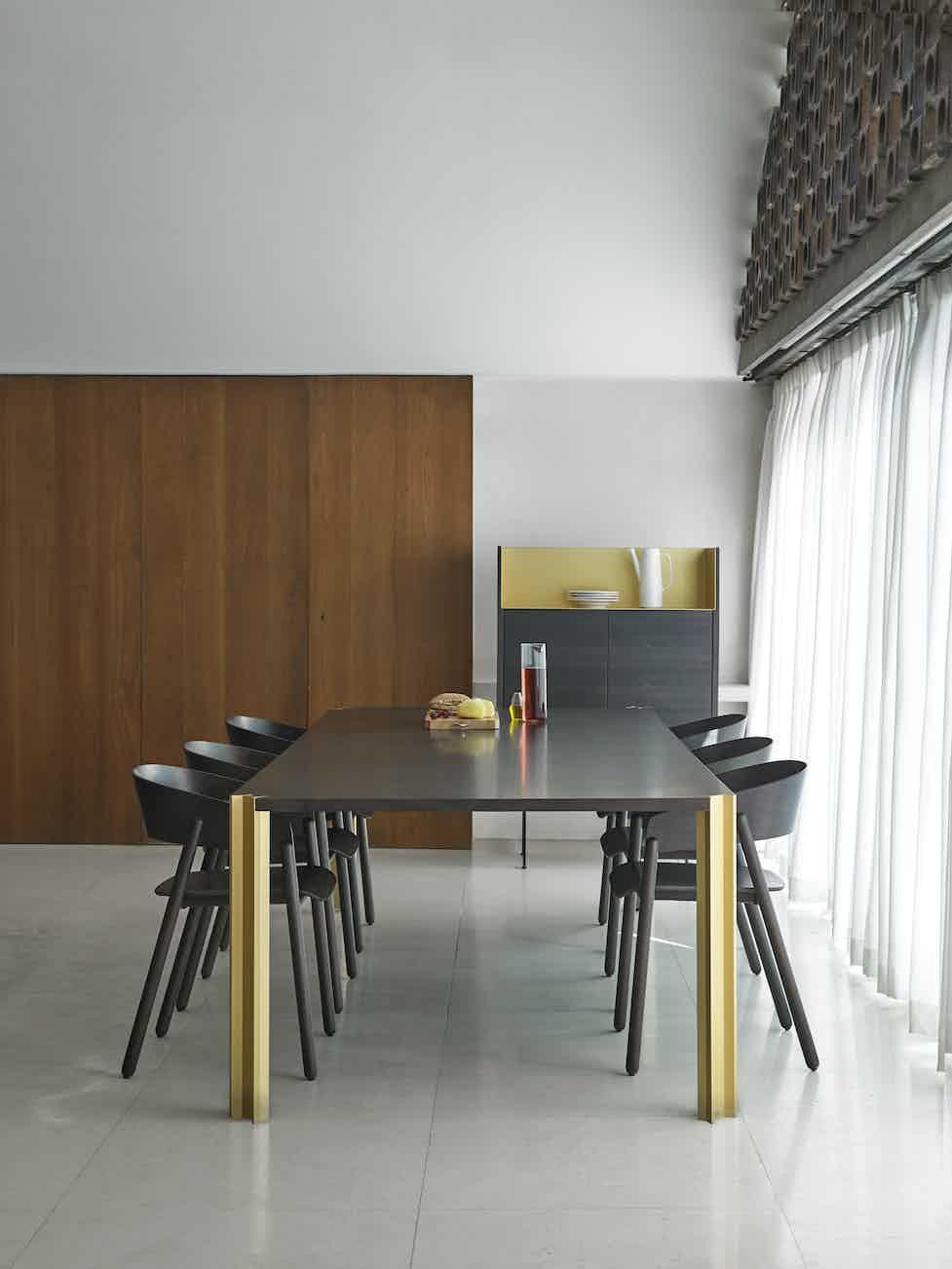 Punt Furniture Crossing Insitu Black Front Haute Living