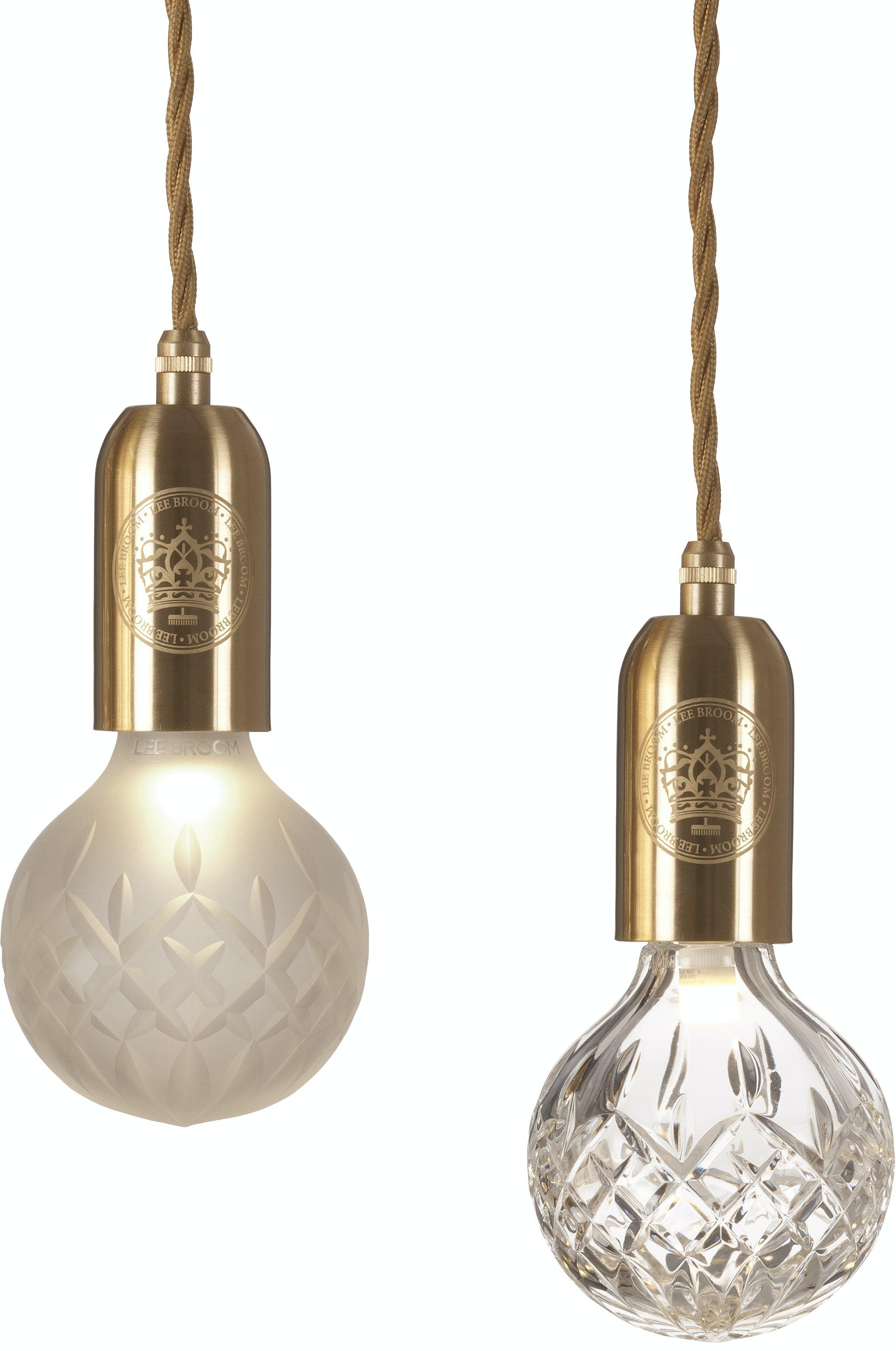 lee broom crystal bulb pendant haute living