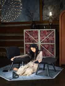 Moooi Carpets Crystal Teddy Carpet Insitu2 Haute Living