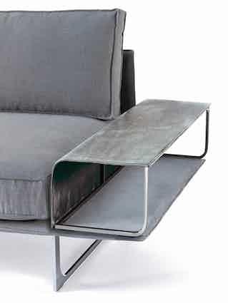 Jab Anstoetz Cube Air Sofa Side Table Detail Haute Living