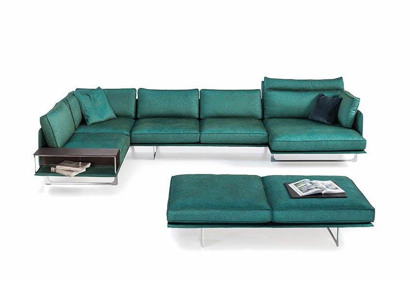 Jab Anstoetz Green Cube Air Modular Sofa Haute Living