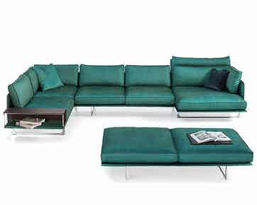 Jab Anstoetz Green Cube Air Modular Sofa Haute Living