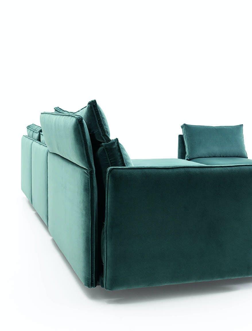 Jab Anstoetz Blue Corner Cube Lounge Sofa Haute Living