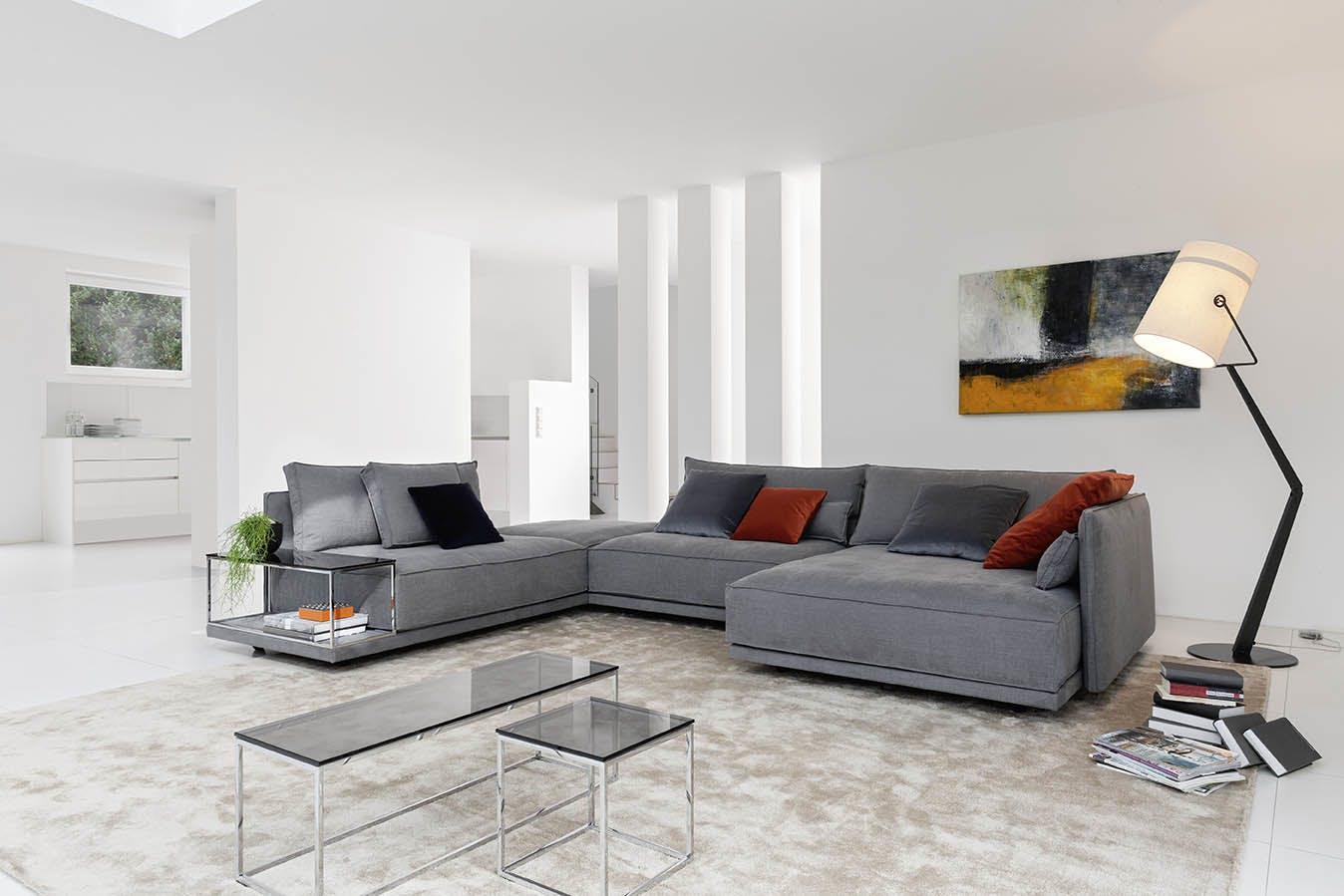 Jab Anstoetz Grey Cube Lounge Modular Sofa Insitu Haute Living