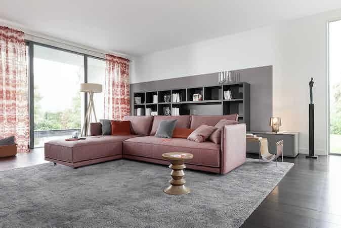 Jab Anstoetz Pink Cube Lounge Modular Sofa Insitu Haute Living