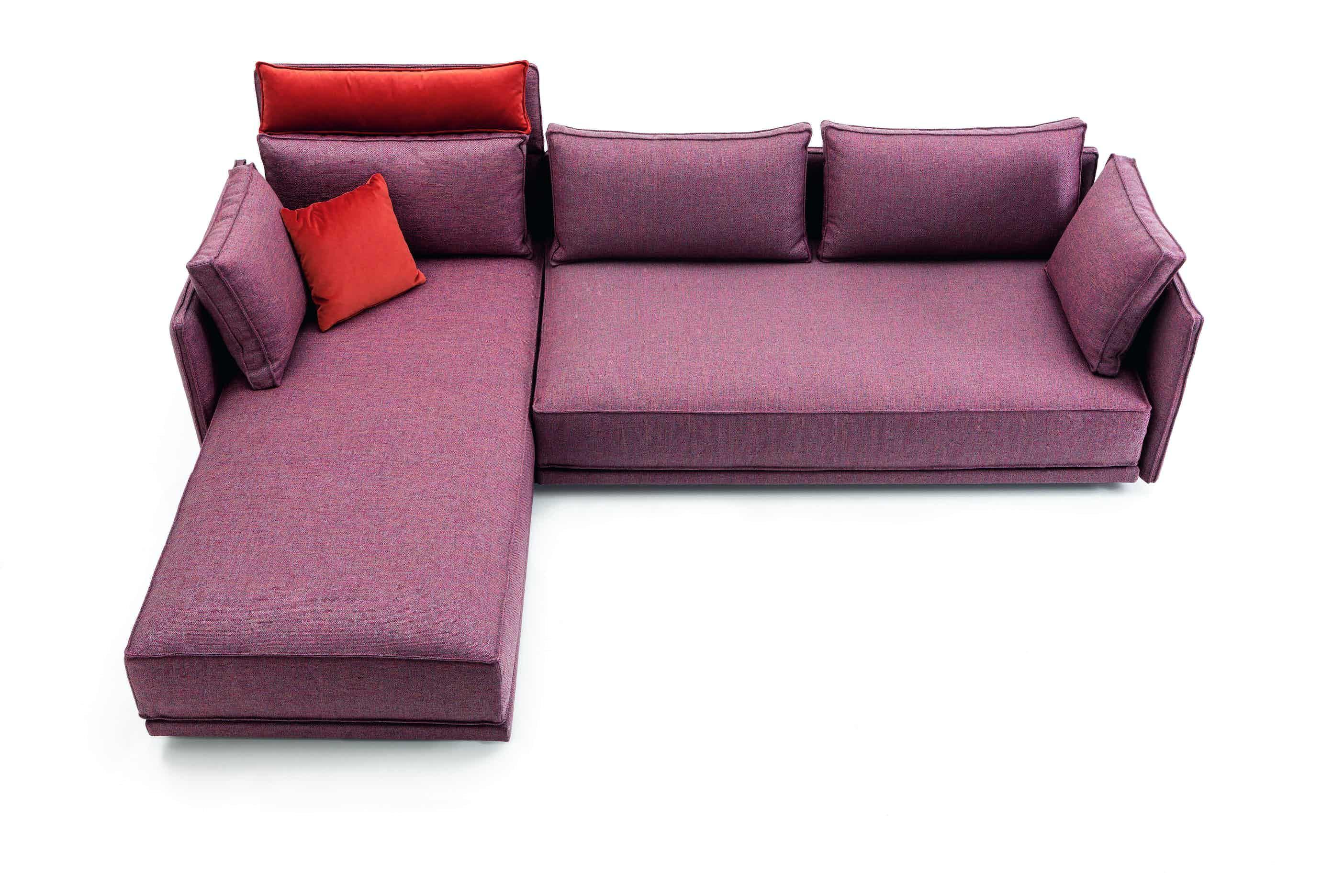 Jab Anstoetz Red Cube Lounge Modular Sofa Haute Living