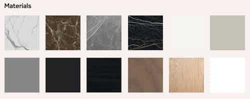 Miniforms decapo table materials haute living