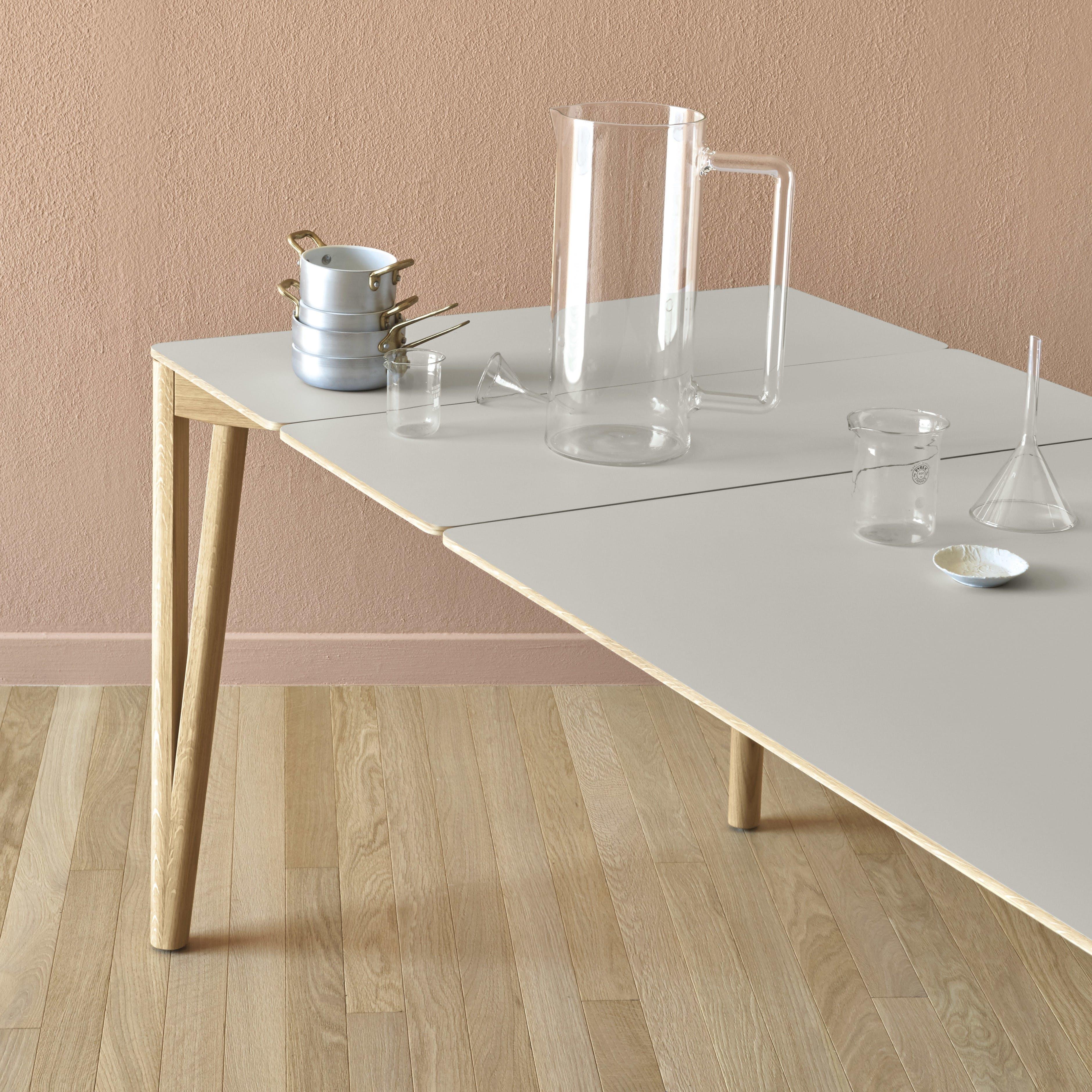 Miniforms Decapo Table White Half Haute Living