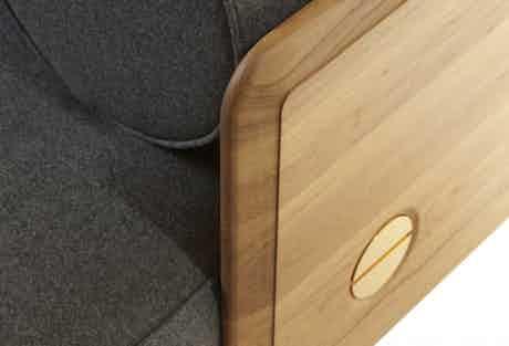 De La Espada Autoban Deco Sofa Detail Haute Living
