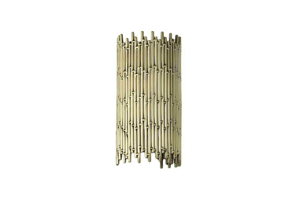 Cto Lighting Deco Wall Mini Gold Haute Living