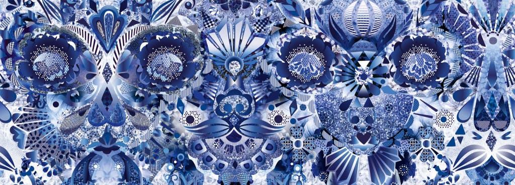 Marcel Wanders Delft Blue Repeat 1024X369