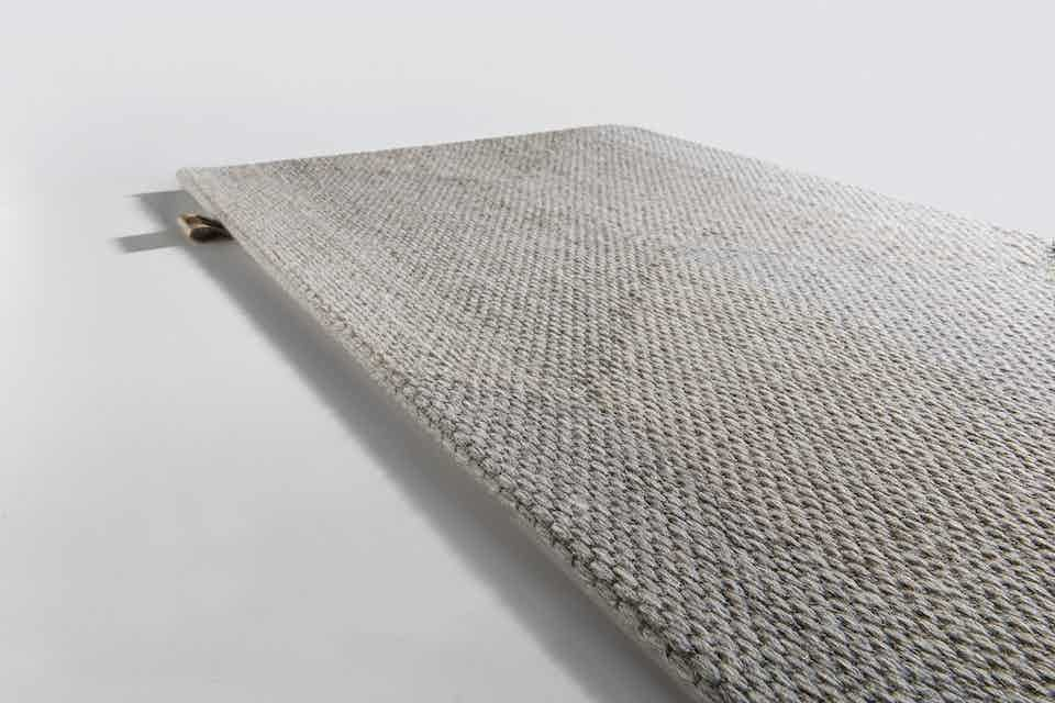 Limited Edition Rugs Diabolo Rug Platinum Haute Living