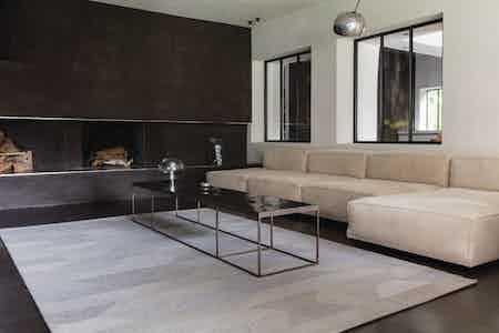 Limited Edition Rugs Diabolo Rug Platinum Inistu Haute Living