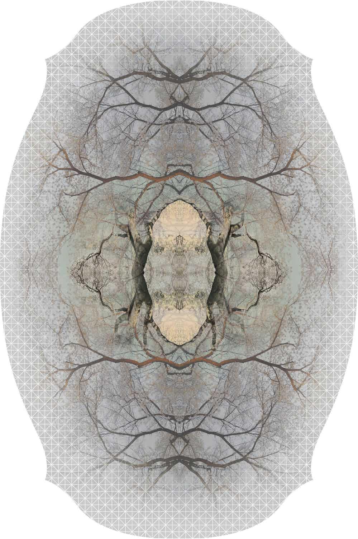 Moooi Carpets Diamond Tree Rectangle Haute Living