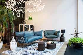Moooi Carpets Digit Sky Insitu Haute Living