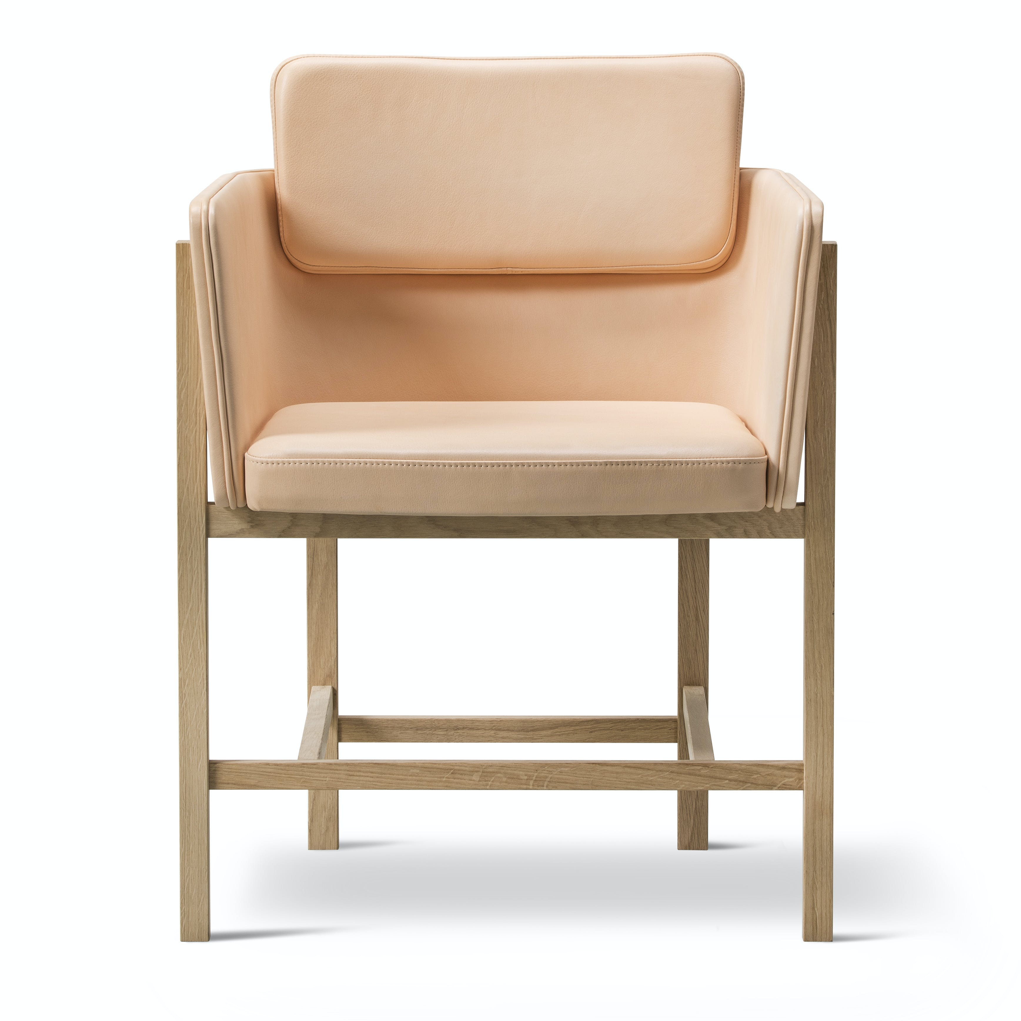 Fredericia Furniture Din Chair Front Haute Living