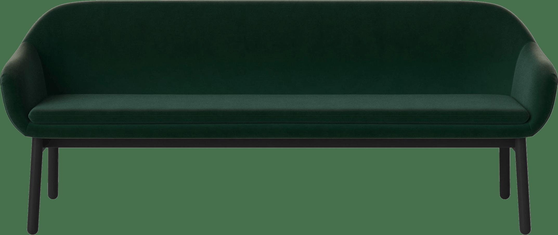 bolia dark green dine sofa haute living