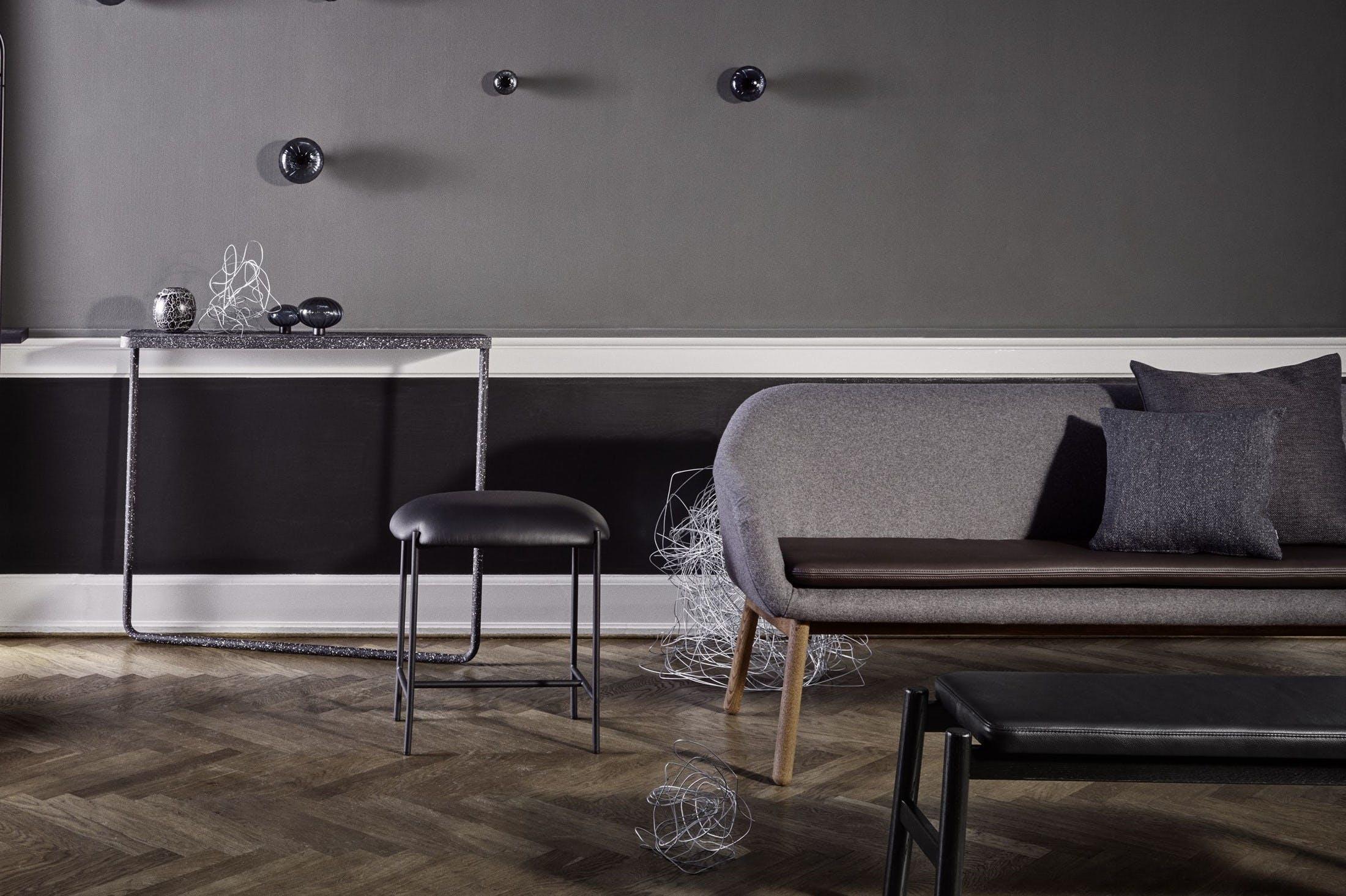Bolia Grey Dine Sofa Side Detail Insitu Haute Living