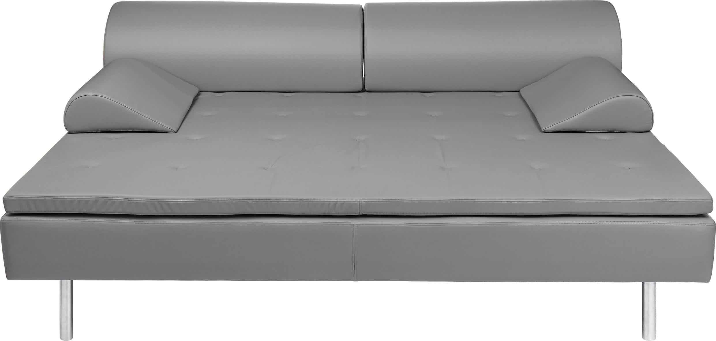 Gubi diva daybed grey front haute living