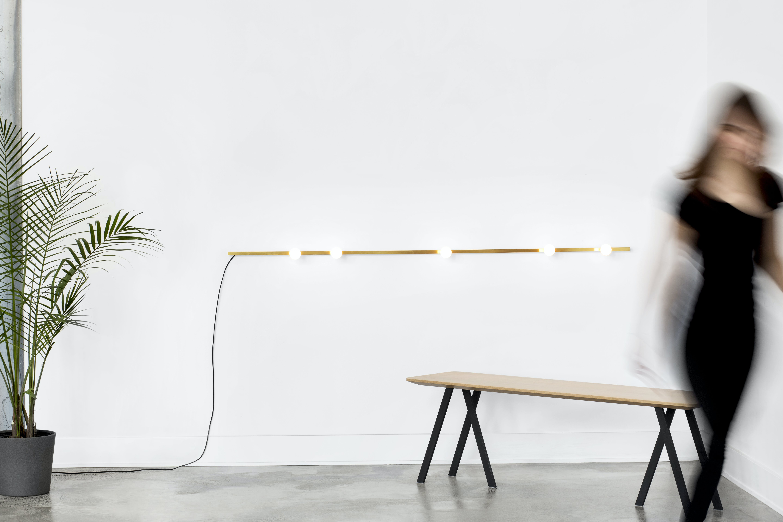 lambert et fils dot line wall lamp insitu haute living