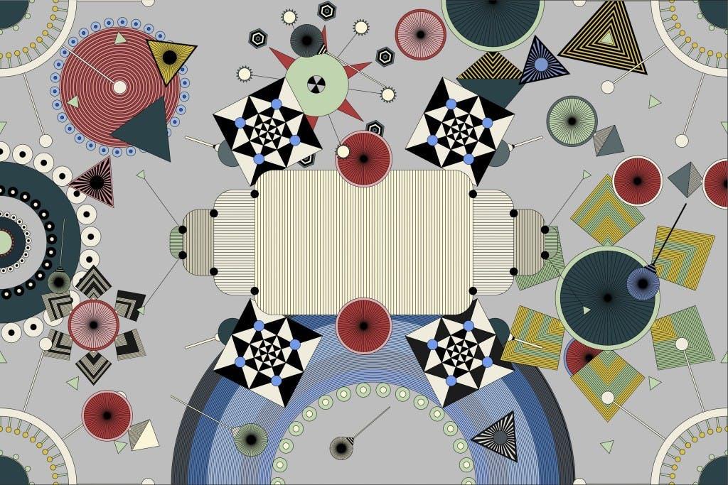 David Nicolas Dream Static Rug 200X300 1024X683