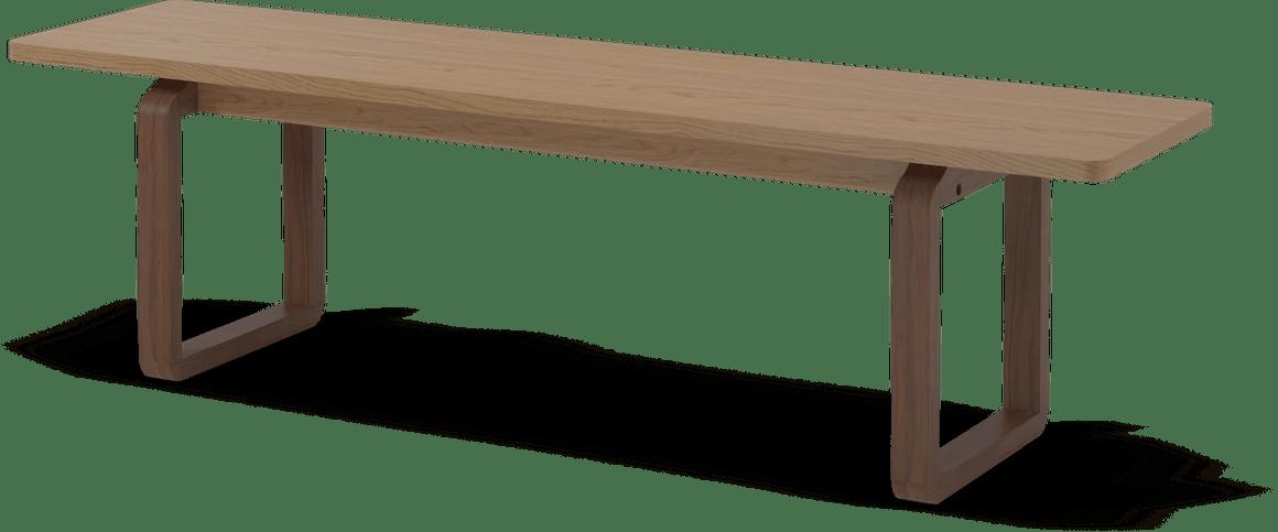 bolia dt bench light brown haute living