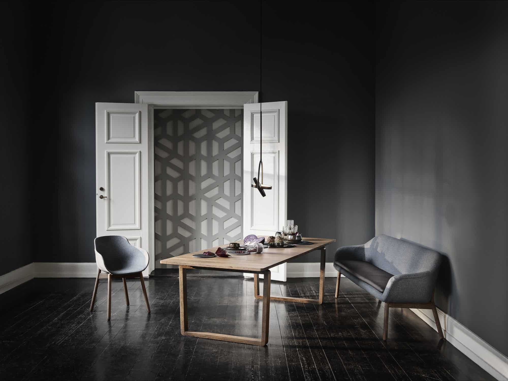 bolia dt dining table sofa insitu haute living
