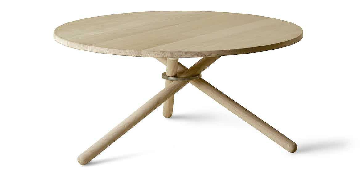 Eberhart furniture bertha coffee table oak haute living
