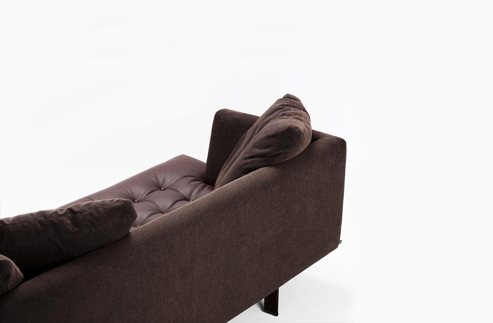 Bensen Brown Edward Sofa Back