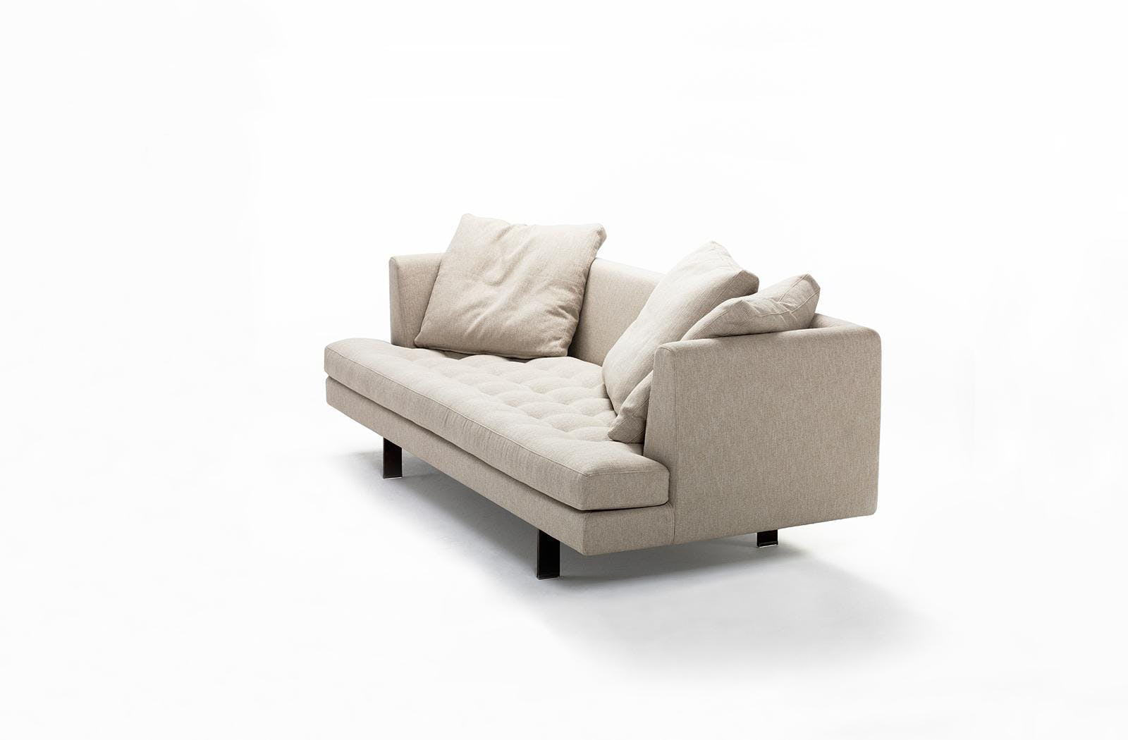 Bensen Edward Cream Sofa Angle