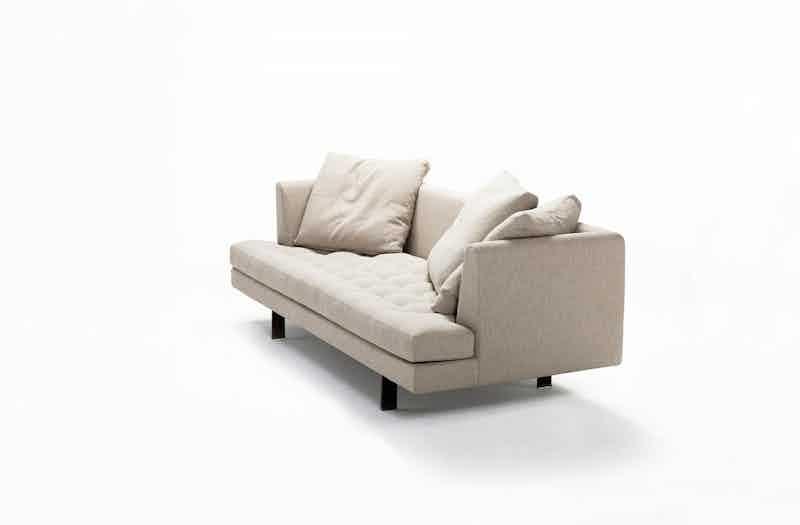 Bensen Edward Cream Sofa Angle