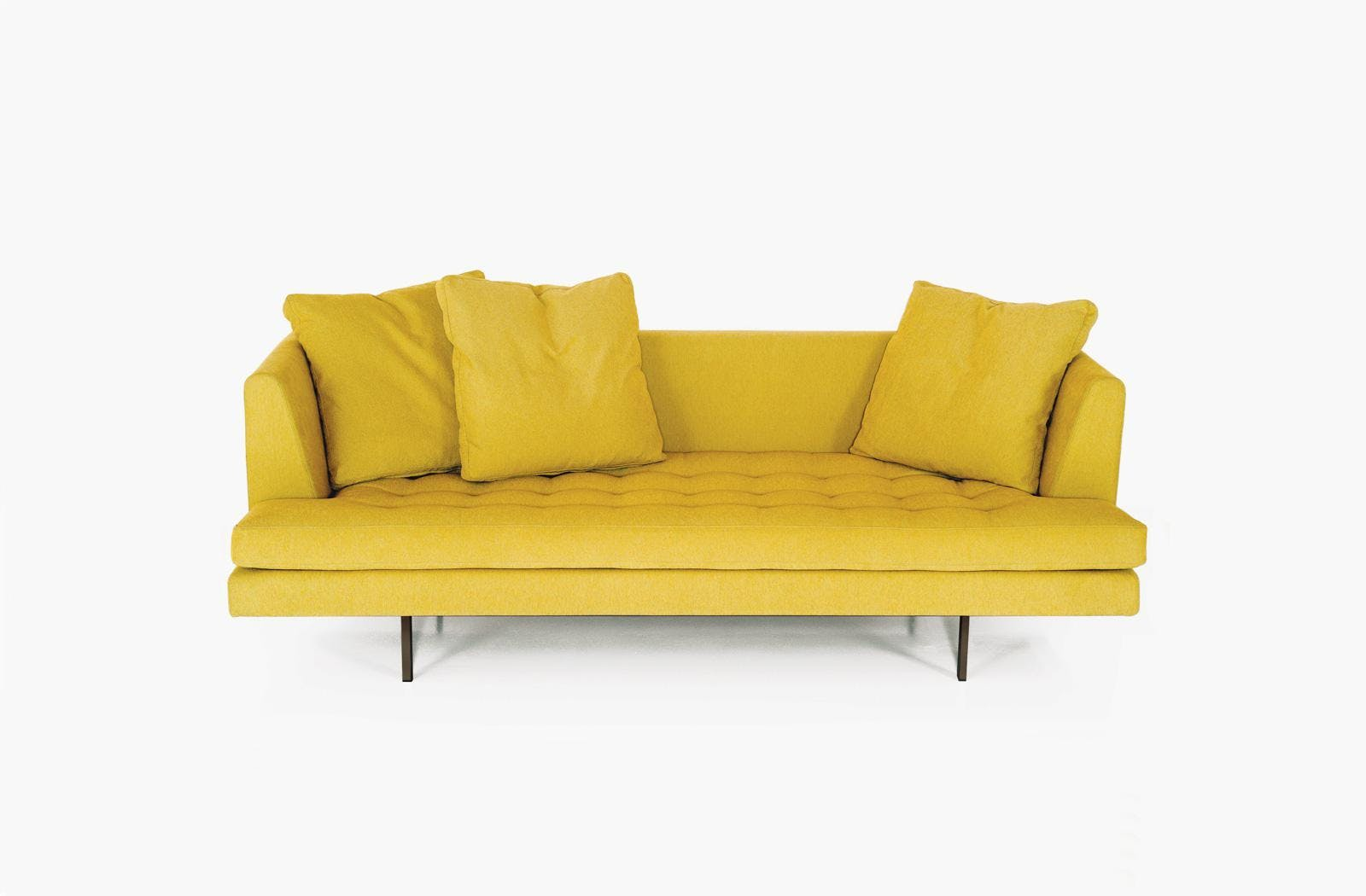 Bensen Yellow Edward Sofa Front